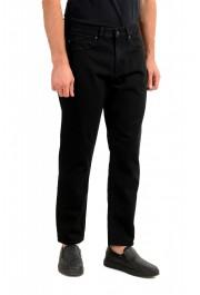 "Hugo Boss Men's ""Hugo 334"" Black Relaxed Fit Jeans: Picture 2"