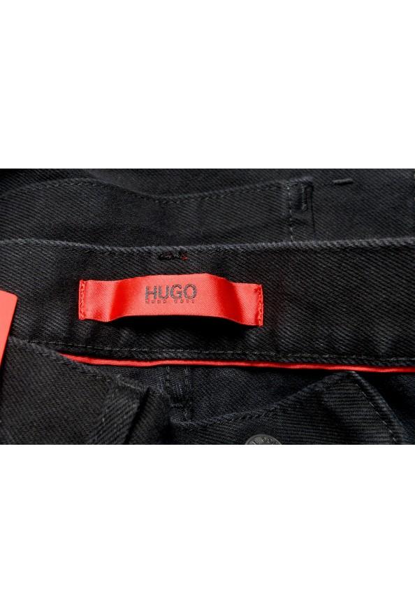 "Hugo Boss Men's ""Hugo 334"" Black Relaxed Fit Jeans: Picture 6"