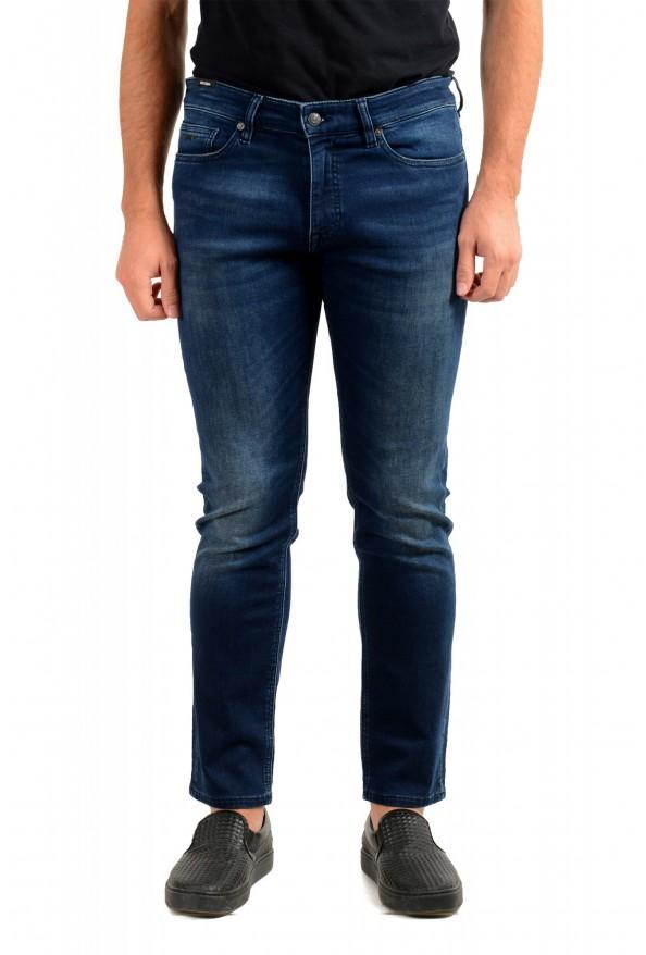 """Hugo Boss Men's """"Delaware BC-L-P"""" Slim Fit Straight Leg Jeans"""