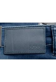 "Hugo Boss Men's ""Delaware BC-L-P"" Slim Fit Straight Leg Jeans: Picture 4"