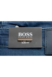 "Hugo Boss Men's ""Delaware BC-L-P"" Slim Fit Straight Leg Jeans: Picture 5"