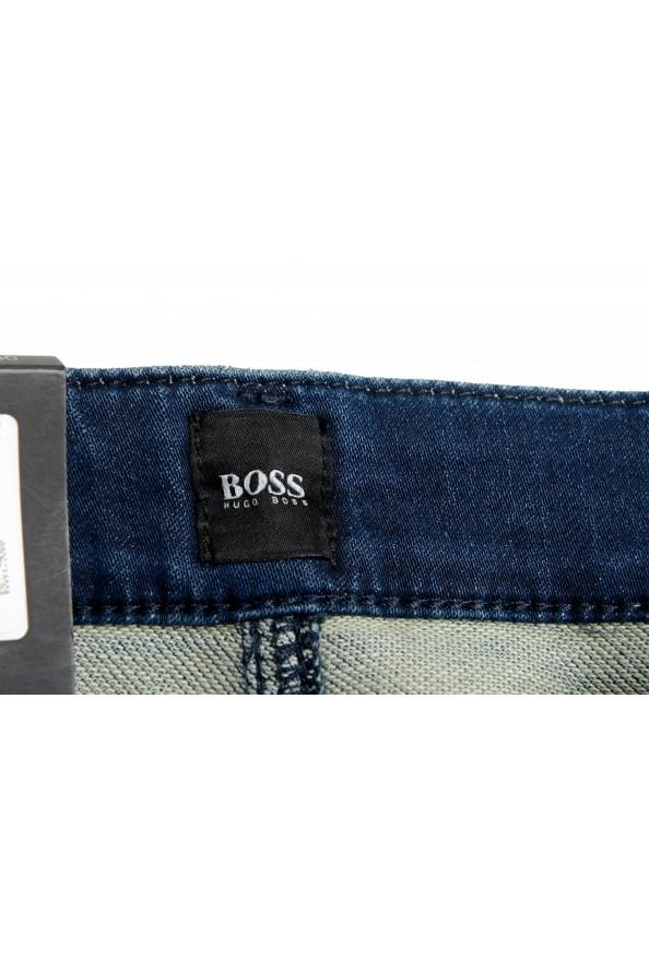 "Hugo Boss Men's ""Delaware BC-L-P"" Slim Fit Straight Leg Jeans: Picture 6"