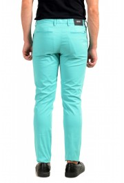 """Hugo Boss Men's """"Kaito1"""" Turquoise Flat Front Casual Pants: Picture 3"""