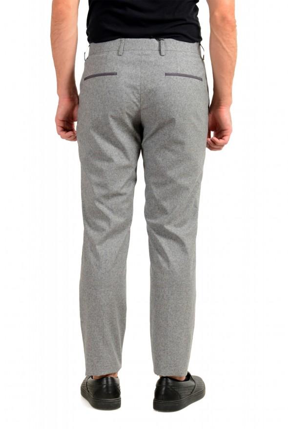 "Hugo Boss Men's ""Gido"" Gray Wool Silk Flat Front Casual Pants: Picture 3"