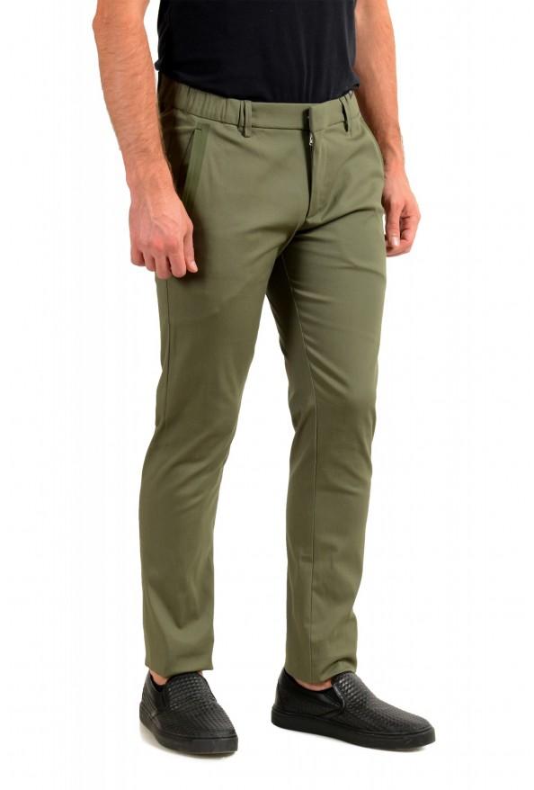 "Hugo Boss Men's ""Rogan4-1"" Slim Fit Olive Green Casual Pants: Picture 2"