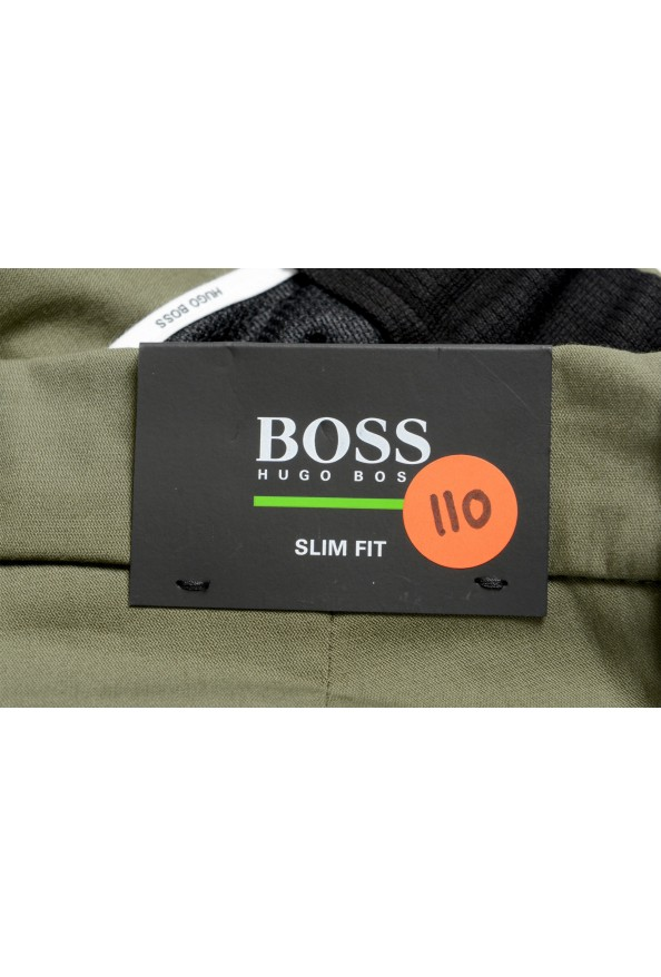 "Hugo Boss Men's ""Rogan4-1"" Slim Fit Olive Green Casual Pants: Picture 5"