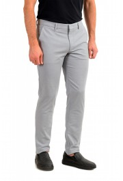 """Hugo Boss Men's """"Kaito1"""" Gray Flat Front Casual Pants : Picture 2"""
