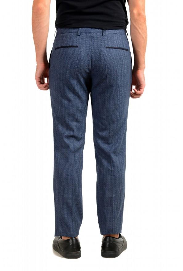 "Hugo Boss Men's ""Gido"" Blue 100% Wool Flat Front Casual Pants: Picture 3"