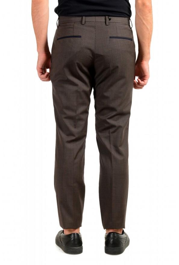 "Hugo Boss Men's ""Gido"" Brown 100% Wool Flat Front Pants: Picture 3"