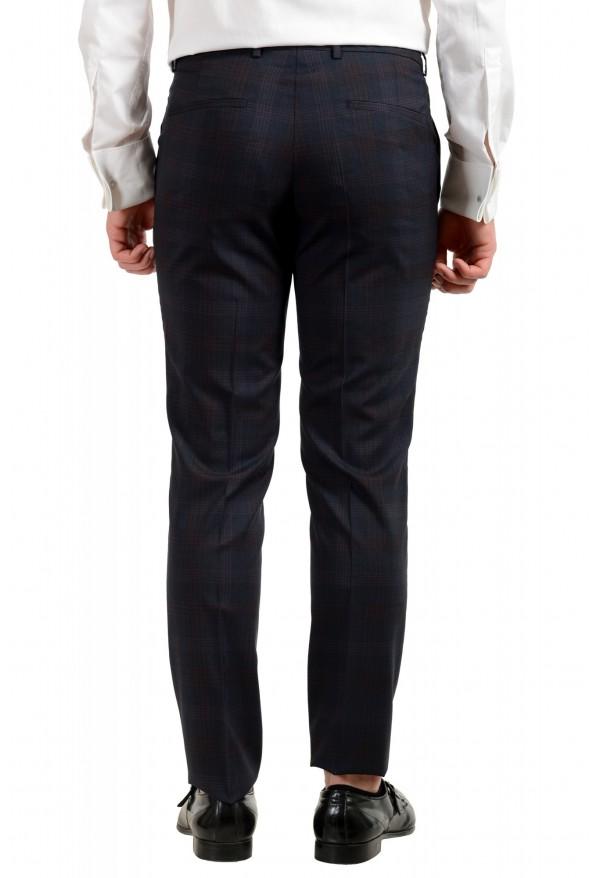"Hugo Boss Men's ""Arti/Hesten182"" Extra Slim Plaid 100% Wool Two Button Suit: Picture 10"