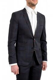 "Hugo Boss Men's ""Arti/Hesten182"" Extra Slim Plaid 100% Wool Two Button Suit: Picture 5"