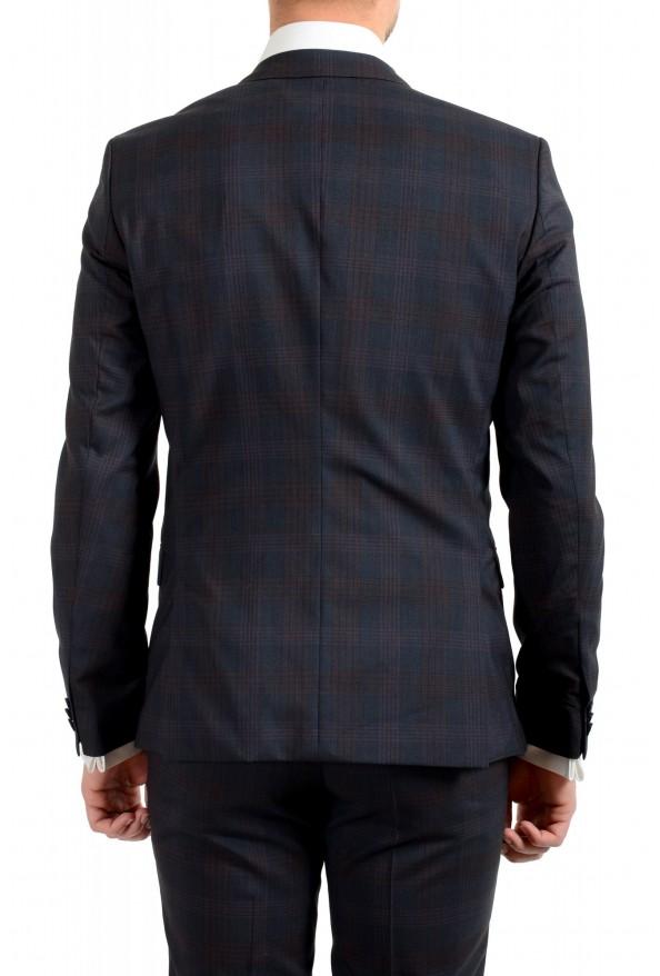 "Hugo Boss Men's ""Arti/Hesten182"" Extra Slim Plaid 100% Wool Two Button Suit: Picture 6"