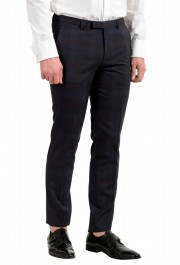 "Hugo Boss Men's ""Arti/Hesten182"" Extra Slim Plaid 100% Wool Two Button Suit: Picture 9"