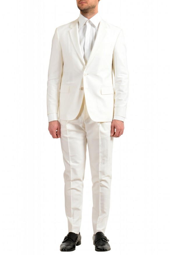 """Hugo Boss Men's """"The Thriller/Suit"""" White Two Button Suit"""