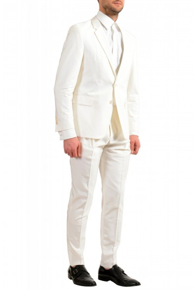 """Hugo Boss Men's """"The Thriller/Suit"""" White Two Button Suit: Picture 2"""