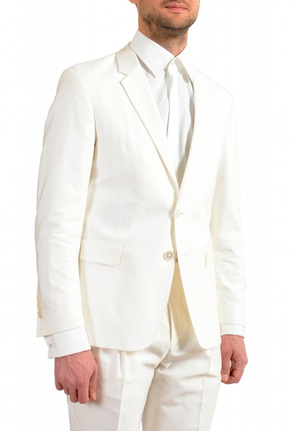 """Hugo Boss Men's """"The Thriller/Suit"""" White Two Button Suit: Picture 5"""