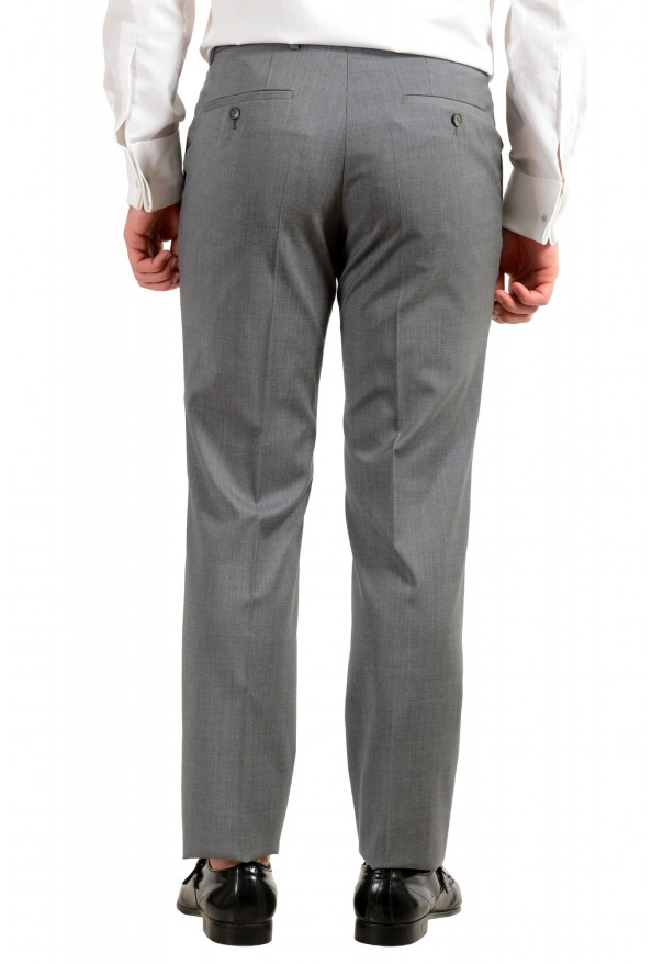 """Hugo Boss Men's """"Jets4/Lenon1"""" Regular Fit Gray 100% Wool Two Button Suit: Picture 10"""