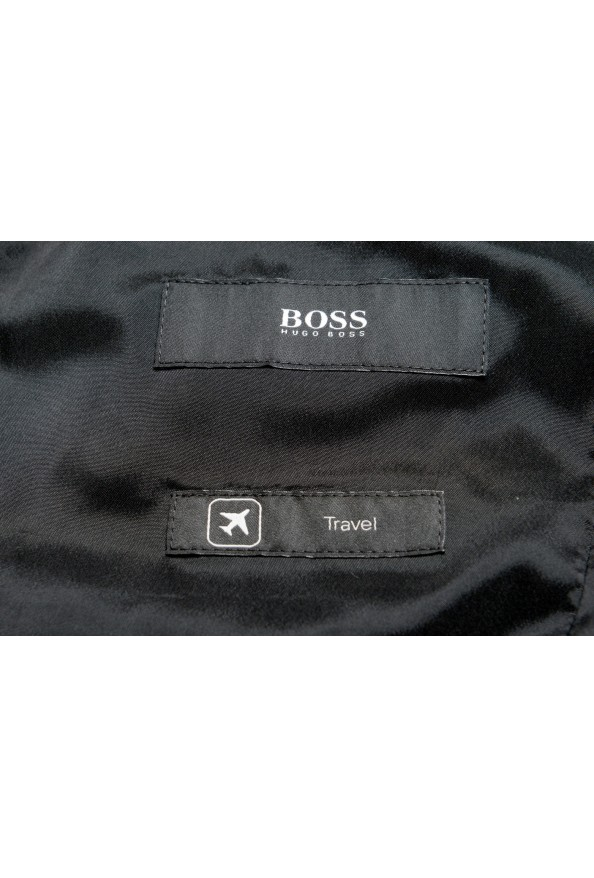"""Hugo Boss Men's """"Jets4/Lenon1"""" Regular Fit Gray 100% Wool Two Button Suit: Picture 12"""