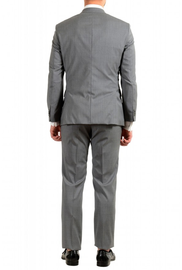 """Hugo Boss Men's """"Jets4/Lenon1"""" Regular Fit Gray 100% Wool Two Button Suit: Picture 3"""