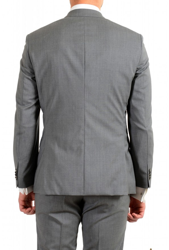 """Hugo Boss Men's """"Jets4/Lenon1"""" Regular Fit Gray 100% Wool Two Button Suit: Picture 6"""