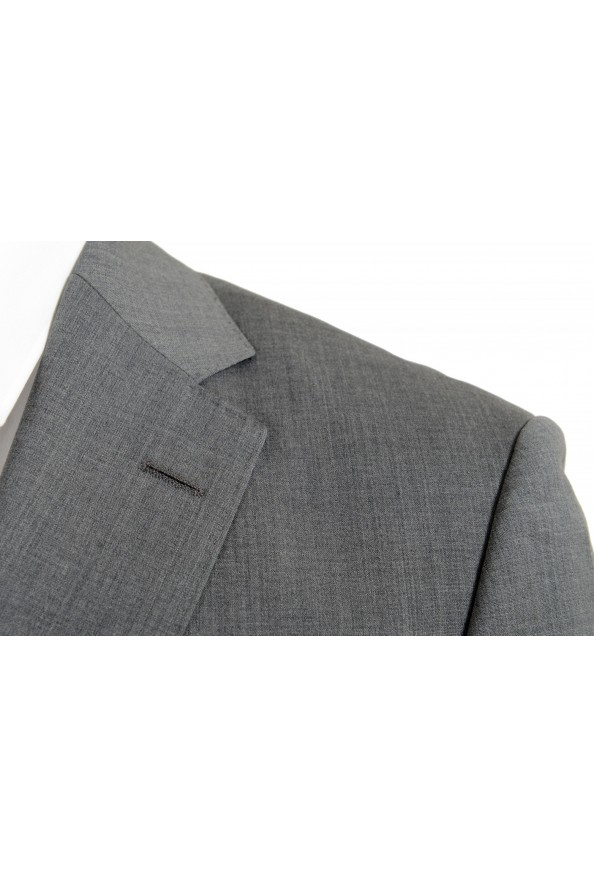 """Hugo Boss Men's """"Jets4/Lenon1"""" Regular Fit Gray 100% Wool Two Button Suit: Picture 7"""