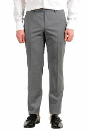 """Hugo Boss Men's """"Jets4/Lenon1"""" Regular Fit Gray 100% Wool Two Button Suit: Picture 8"""