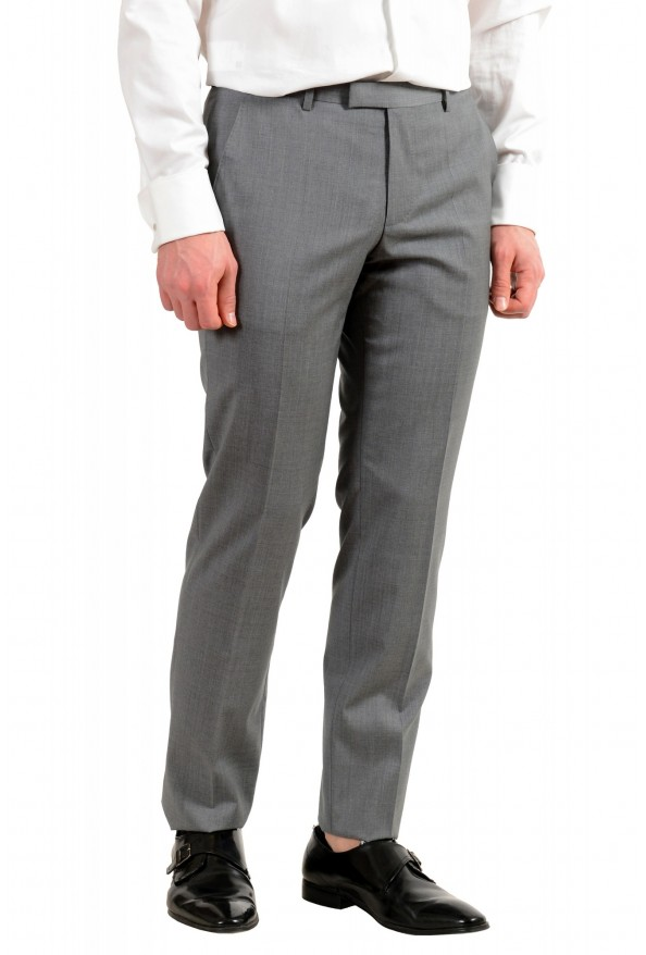 """Hugo Boss Men's """"Jets4/Lenon1"""" Regular Fit Gray 100% Wool Two Button Suit: Picture 9"""