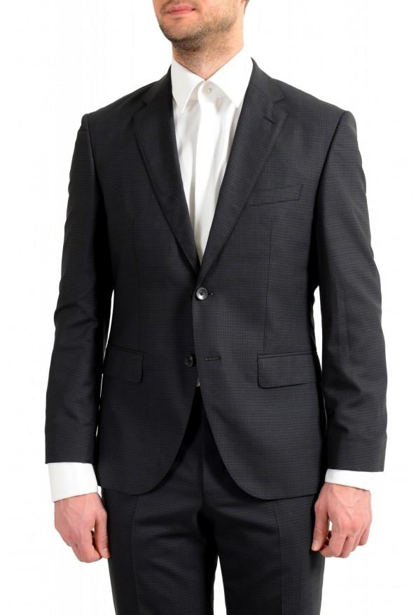 "Hugo Boss Men's ""Johnstons5/Lenon1"" Regular Fit 100% Wool Plaid Two Button Suit: Picture 11"