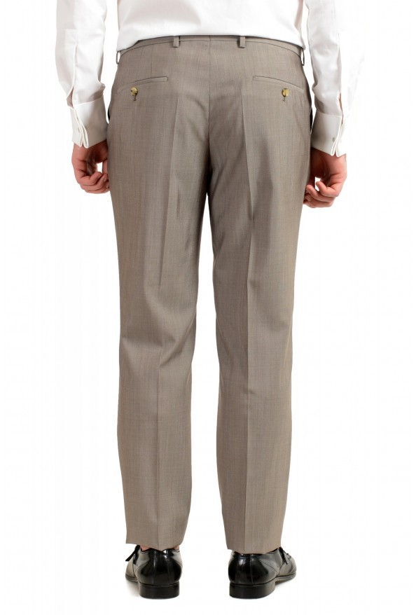 "Hugo Boss Men's ""Huge6/Genius5"" Slim Fit Beige Silk Wool Two Button Suit: Picture 10"
