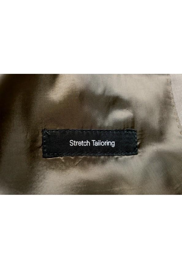 "Hugo Boss Men's ""Huge6/Genius5"" Slim Fit Beige Silk Wool Two Button Suit: Picture 13"