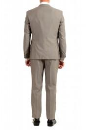 "Hugo Boss Men's ""Huge6/Genius5"" Slim Fit Beige Silk Wool Two Button Suit: Picture 3"