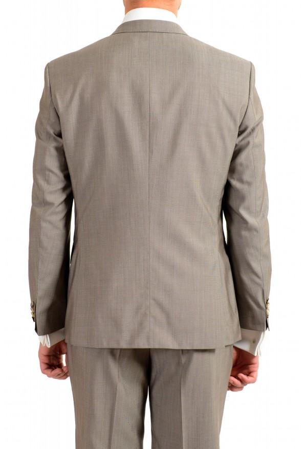 "Hugo Boss Men's ""Huge6/Genius5"" Slim Fit Beige Silk Wool Two Button Suit: Picture 6"