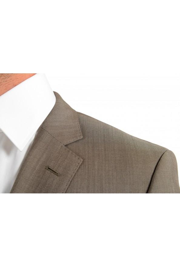 "Hugo Boss Men's ""Huge6/Genius5"" Slim Fit Beige Silk Wool Two Button Suit: Picture 7"