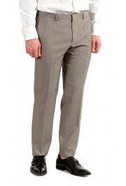 "Hugo Boss Men's ""Huge6/Genius5"" Slim Fit Beige Silk Wool Two Button Suit: Picture 9"