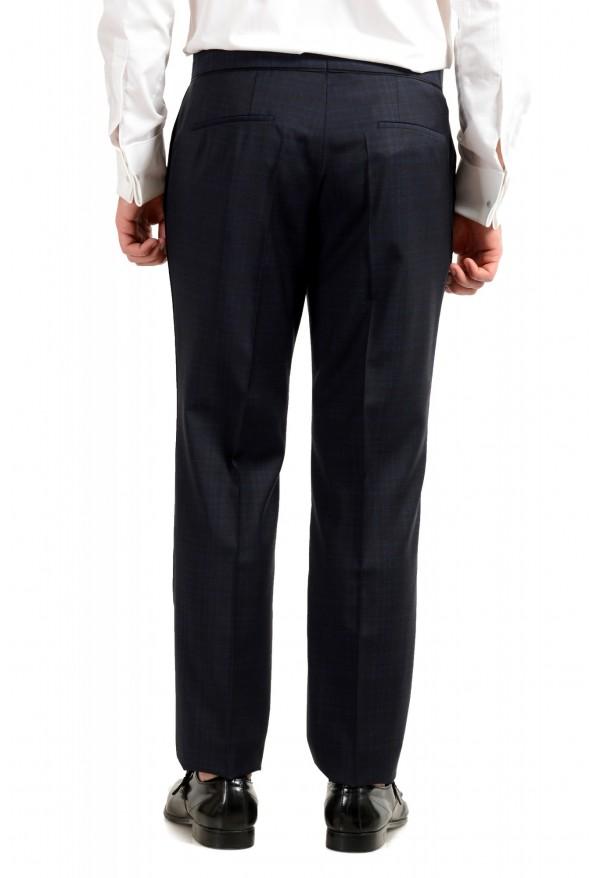 "Hugo Boss Men's ""Henry1/Glow1"" Slim Fit Blue 100% Wool Plaid Tuxedo Suit: Picture 10"