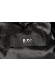 "Hugo Boss Men's ""Henry1/Glow1"" Slim Fit Blue 100% Wool Plaid Tuxedo Suit: Picture 12"