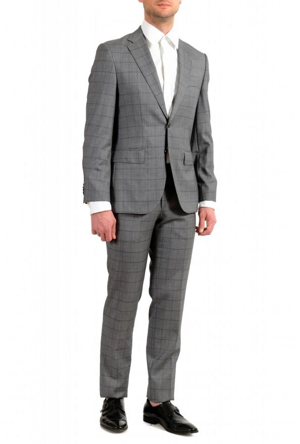 "Hugo Boss Men's ""Johnstons5/Lenon1"" Regular Fit 100% Wool Plaid Two Button Suit: Picture 2"