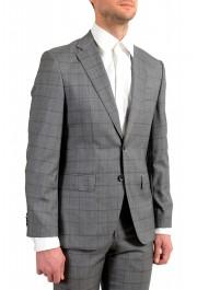 "Hugo Boss Men's ""Johnstons5/Lenon1"" Regular Fit 100% Wool Plaid Two Button Suit: Picture 5"