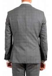"Hugo Boss Men's ""Johnstons5/Lenon1"" Regular Fit 100% Wool Plaid Two Button Suit: Picture 6"