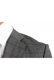 "Hugo Boss Men's ""Johnstons5/Lenon1"" Regular Fit 100% Wool Plaid Two Button Suit: Picture 7"