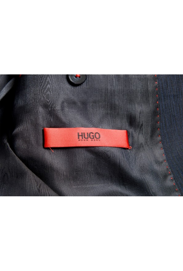 """Hugo Boss Men's """"Astian/Hets182"""" Extra Slim Fit Blue 100% Wool Two Button Suit: Picture 13"""