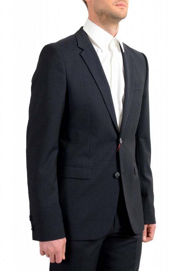 """Hugo Boss Men's """"Astian/Hets182"""" Extra Slim Fit Blue 100% Wool Two Button Suit: Picture 5"""