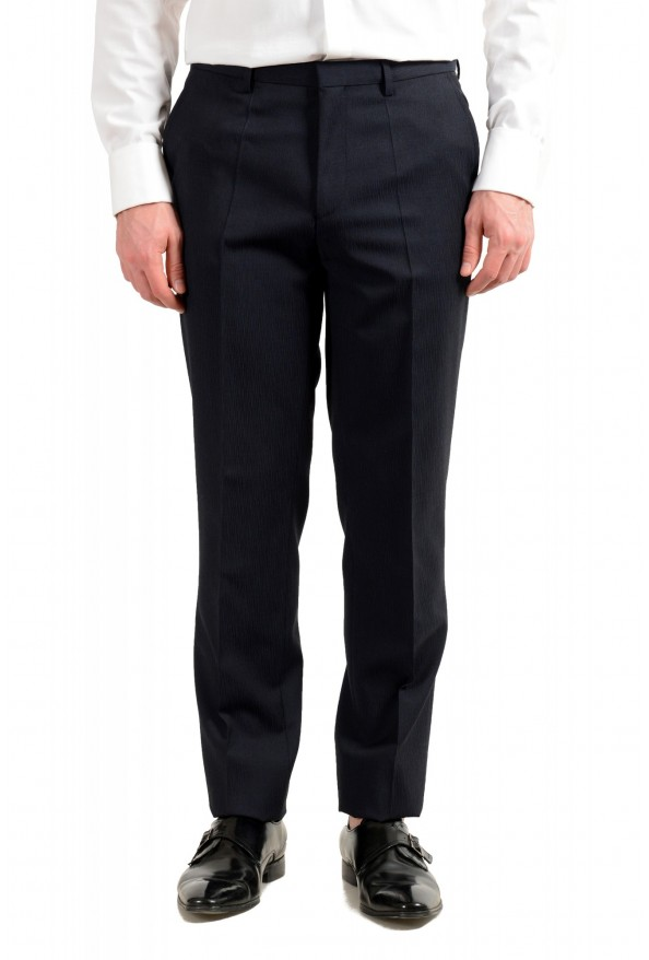 """Hugo Boss Men's """"Astian/Hets182"""" Extra Slim Fit Blue 100% Wool Two Button Suit: Picture 8"""