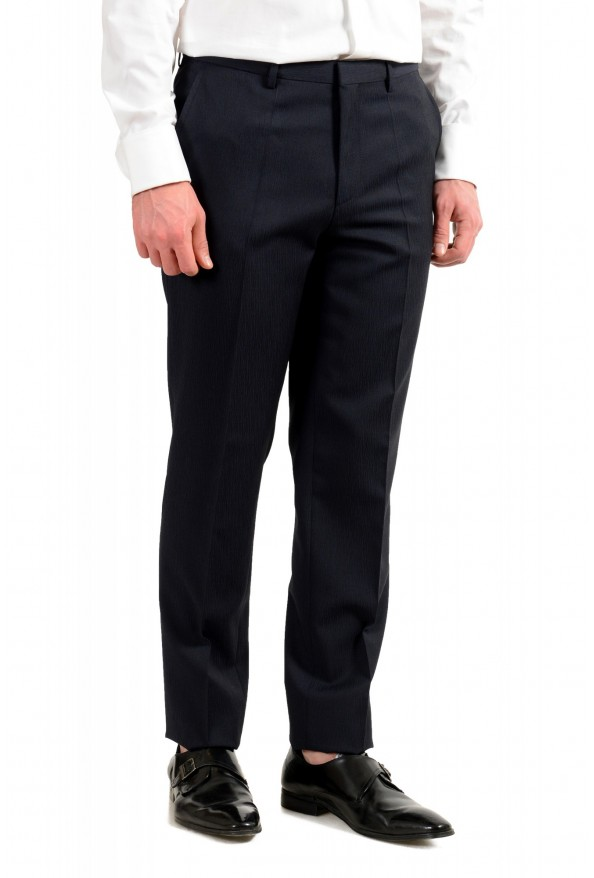 """Hugo Boss Men's """"Astian/Hets182"""" Extra Slim Fit Blue 100% Wool Two Button Suit: Picture 9"""