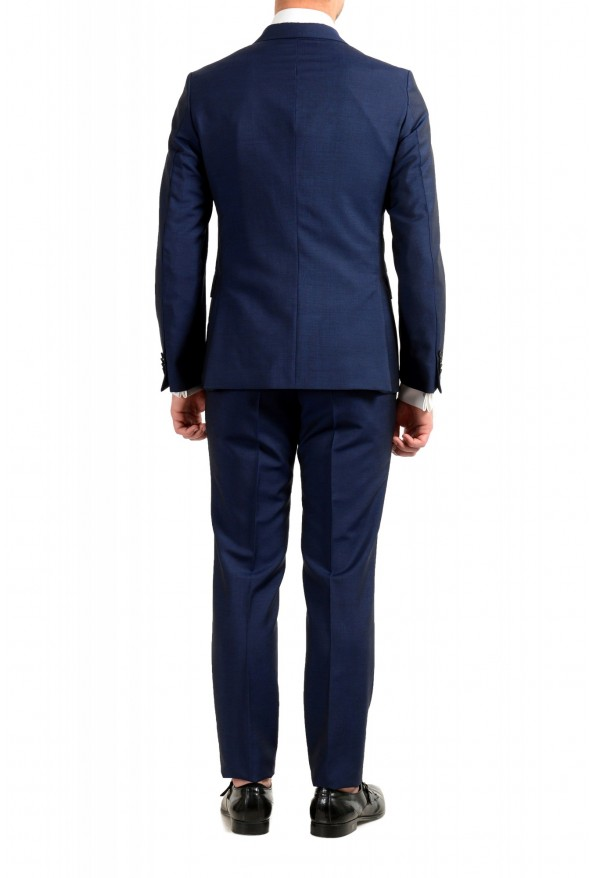 """Hugo Boss Men's """"Namil/Ben2"""" Slim Fit Blue Mohair Wool Double Breasted Suit: Picture 3"""