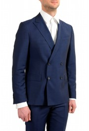 """Hugo Boss Men's """"Namil/Ben2"""" Slim Fit Blue Mohair Wool Double Breasted Suit: Picture 5"""