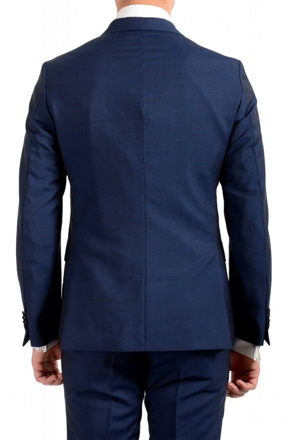 """Hugo Boss Men's """"Namil/Ben2"""" Slim Fit Blue Mohair Wool Double Breasted Suit: Picture 6"""
