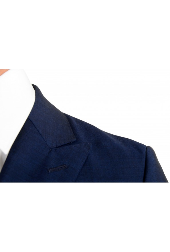 """Hugo Boss Men's """"Namil/Ben2"""" Slim Fit Blue Mohair Wool Double Breasted Suit: Picture 7"""