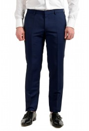 """Hugo Boss Men's """"Namil/Ben2"""" Slim Fit Blue Mohair Wool Double Breasted Suit: Picture 8"""