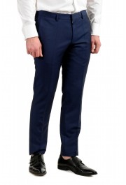 """Hugo Boss Men's """"Namil/Ben2"""" Slim Fit Blue Mohair Wool Double Breasted Suit: Picture 9"""
